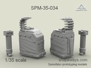 1/35 SPM-35-034 LBT MK48 Box Mag (middle) in Smoothest Fine Detail Plastic
