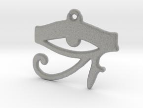 Horus Eye-rev.1 in Metallic Plastic