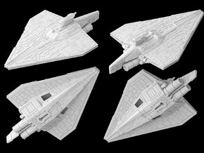 (Armada) Acclamator assault ship in White Strong & Flexible