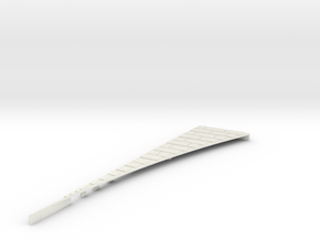 P-165stg-right-outside-wedge-big-1a in White Natural Versatile Plastic