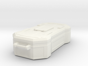 sci fi cargobox  in White Natural Versatile Plastic