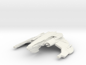 Hunter Class C Warbird in White Natural Versatile Plastic