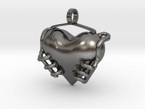 Heart Engine in Polished Nickel Steel