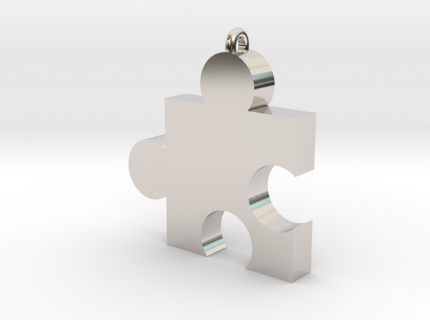 Small Jiggy Pendant 3d printed