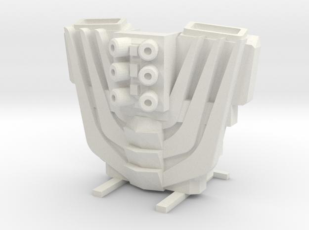 Rod Kit in White Natural Versatile Plastic