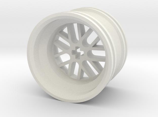 Wheel Design III MkII in White Strong & Flexible