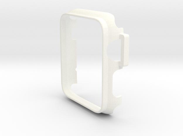 Watch Case 42mm in White Processed Versatile Plastic