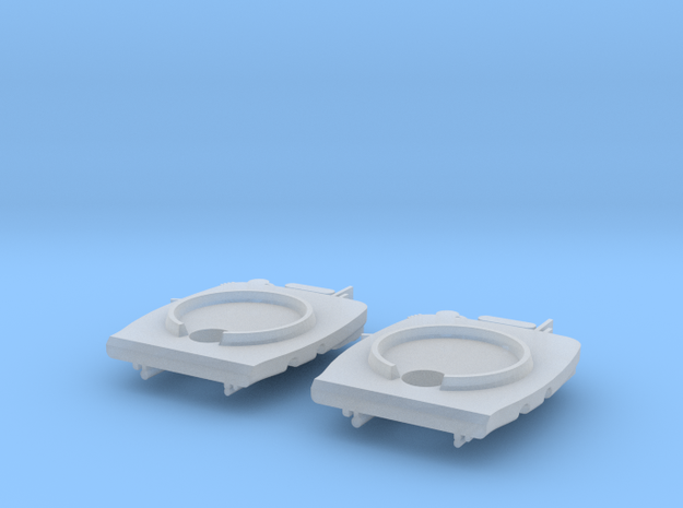 GWR standard backhead (x2), 2mm FS 3d printed Rendering