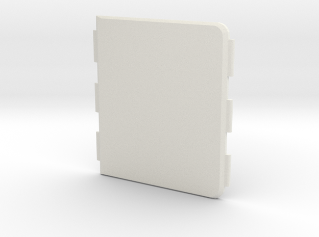 MARK XI Cover in White Natural Versatile Plastic