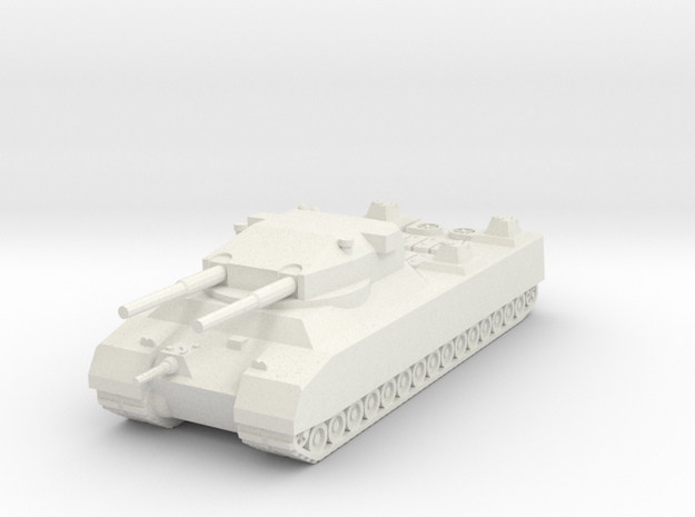 Landkreuzer P.1000 Ratte (Germany) 1/285 (Qty. 1) in White Strong & Flexible