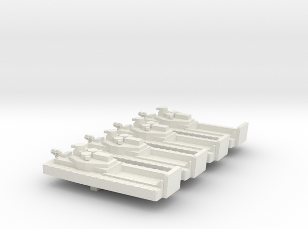 1/600 ATC With open welldeck in White Strong & Flexible