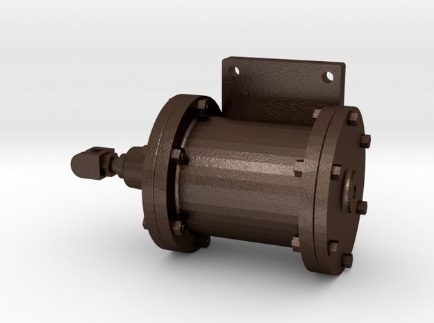No. 23 - Brake Cylinder - Left .625 Plus 1% in Matte Bronze Steel