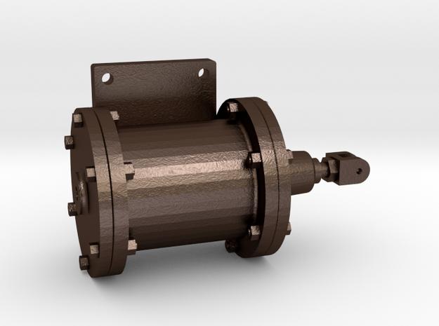 No. 23 - Brake Cylinder - Right .625 Plus 1% in Matte Bronze Steel