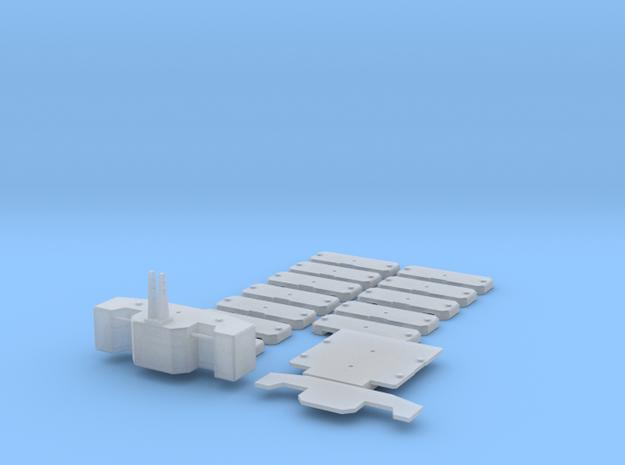 1/87 HO Gewichtssatz für Systemtraktoren in Frosted Ultra Detail