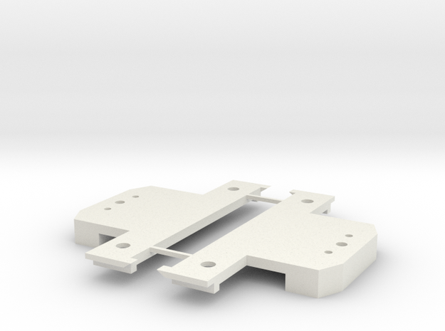 Lionel O scale EMD F3/F7 P&D pilot mount - Pair in White Natural Versatile Plastic