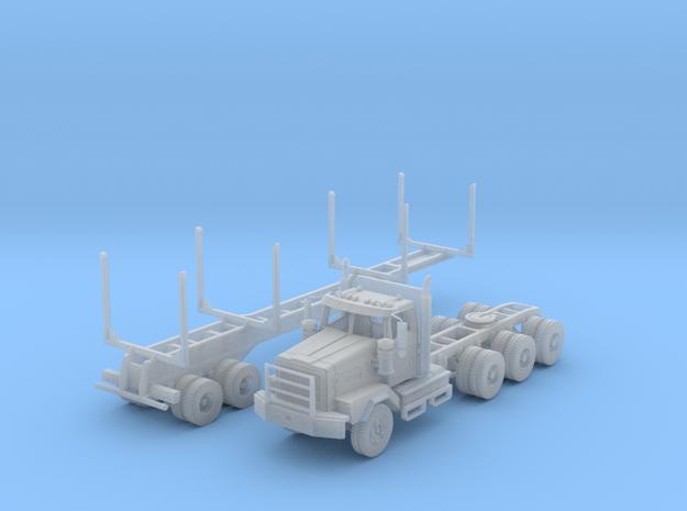 WS 4900XD Tri-Axle Logger N Scale