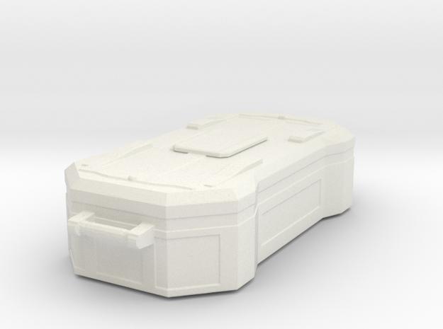 1:20 Cargobox2 in White Natural Versatile Plastic