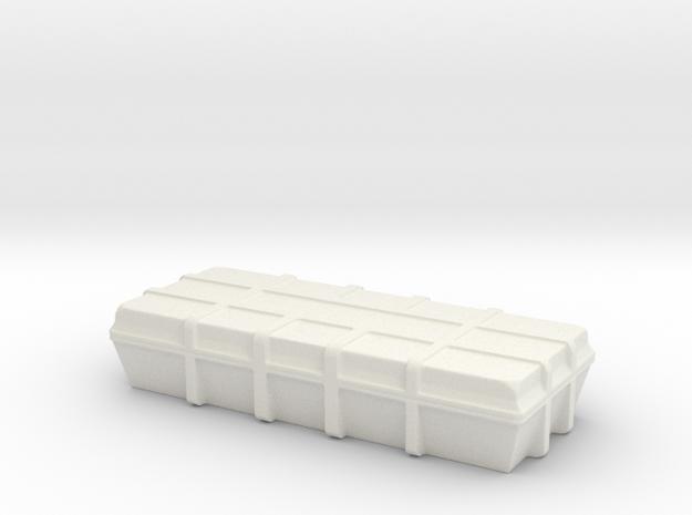 1:20 Cargo box in White Natural Versatile Plastic