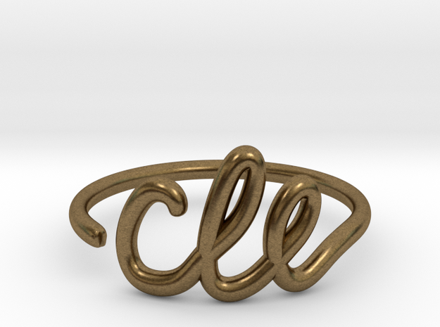 CLE Wire Ring (Adjustable) in Raw Bronze