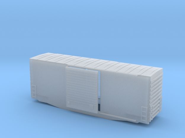 Z Scale high cube 40 3d printed