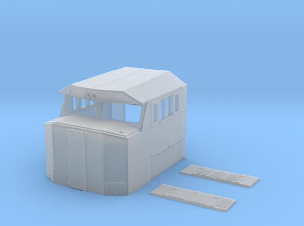 Crescent Cab - Generic in Smooth Fine Detail Plastic