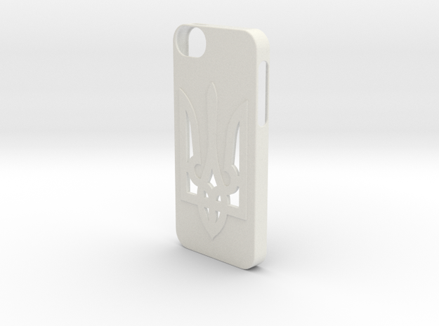 iPhone 5/5S Case  in White Natural Versatile Plastic