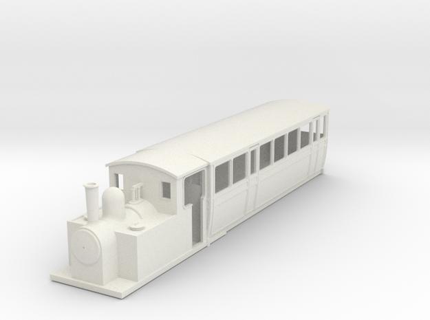 009 steam railcar Coach Body