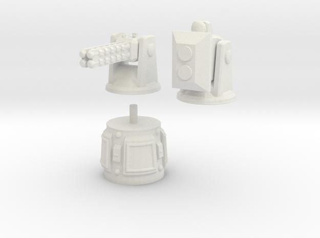 MG144-HE005 Herosine Defense Turret 3d printed
