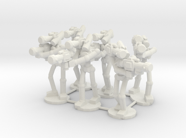 MG72-Aotrs07 War Droid Squad 3d printed