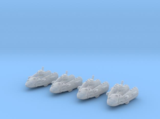 SSA103A Riposte Frigate (x4) 3d printed