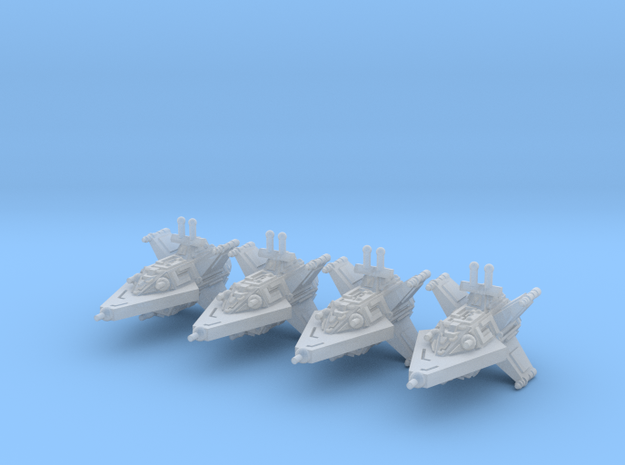 VA104A Turbulent Sky Destroyer (x4) 3d printed
