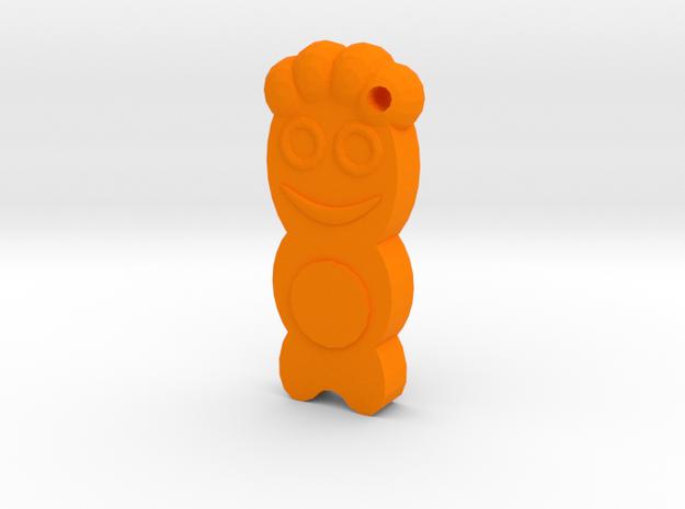 Sour Kids of the Patch in Orange Processed Versatile Plastic