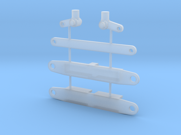 Vorderachse PKW 1 : 87 in Smooth Fine Detail Plastic
