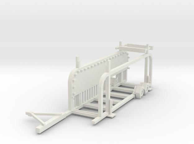 Groovybustrailer in White Strong & Flexible