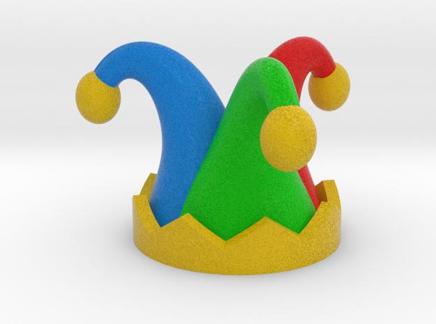 Jester Hat 2x in Full Color Sandstone