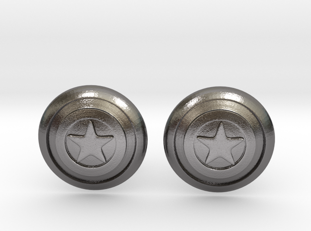 Captain America's Shield Cufflinks