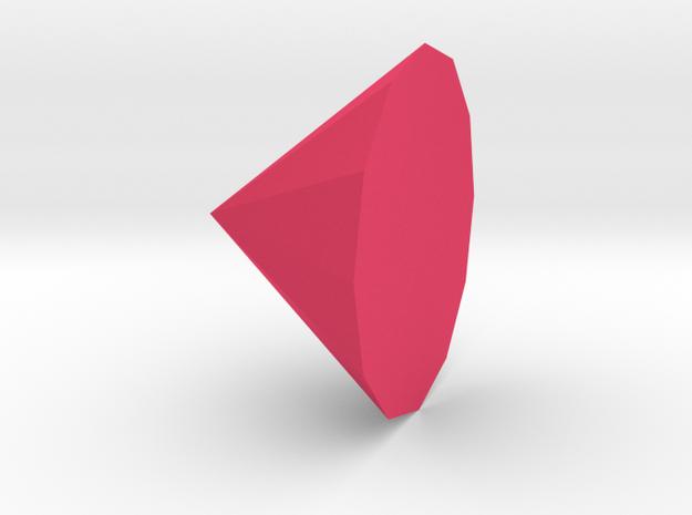 Steven Universe Gem in Pink Strong & Flexible Polished