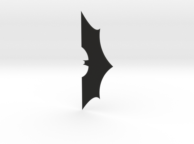 1:2 Scale Batarang From Batman in Black Strong & Flexible