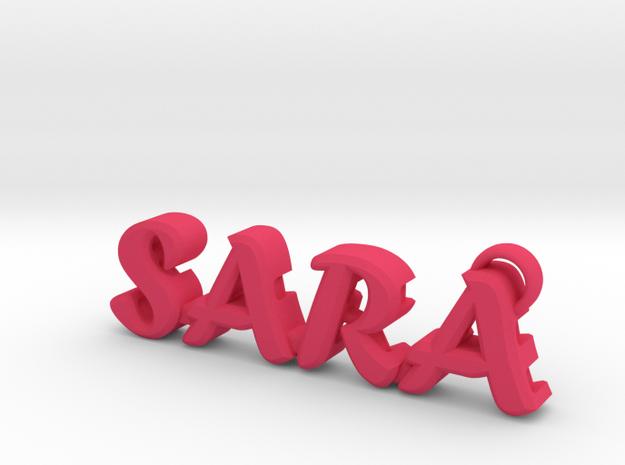 """Sara"" nock depot (Easton G pin) in Pink Strong & Flexible Polished"
