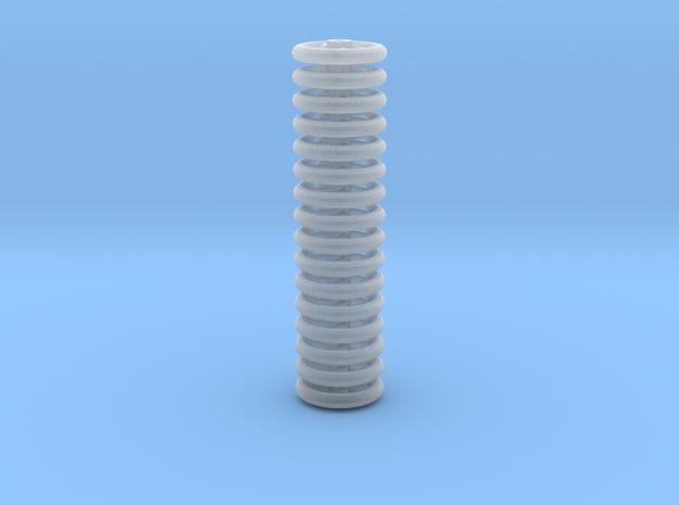Brake Handwheels (5 curved spoke). in Smoothest Fine Detail Plastic