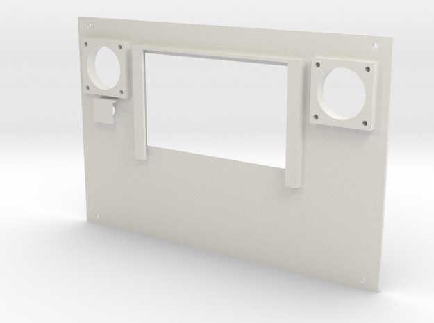CustomRemote TOP in White Natural Versatile Plastic