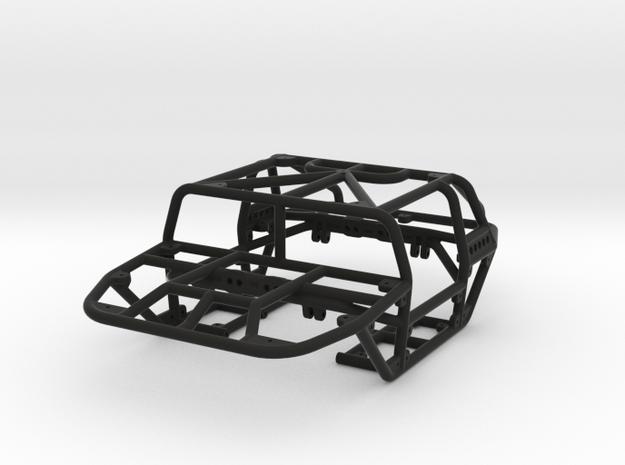 Scorpion 1/24th scale rock crawler chassis in Black Natural Versatile Plastic