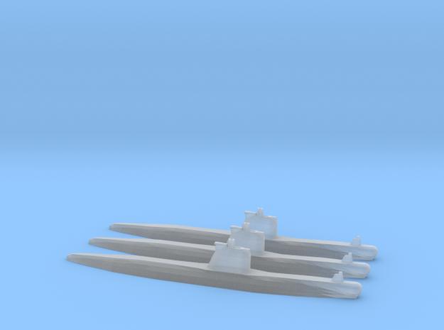 Soviet Foxtrot sub 1/2400 x3