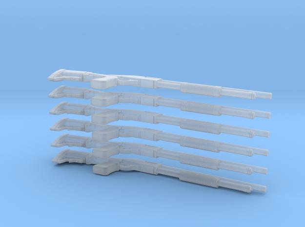 1/18 scale 12ga 870 Shotguns in Smoothest Fine Detail Plastic