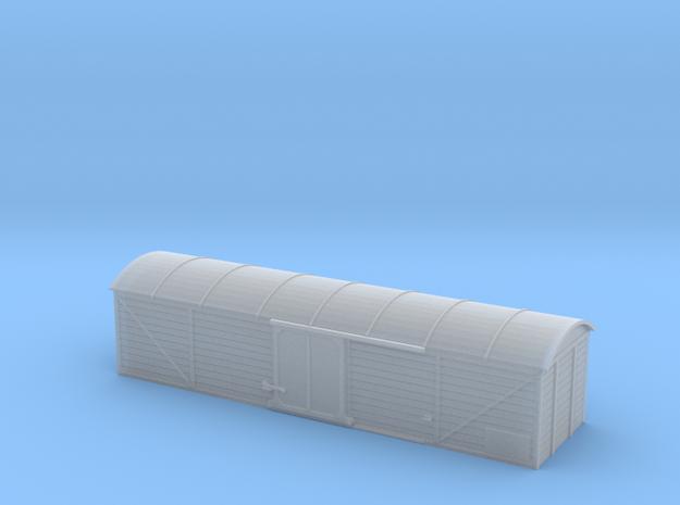 Schienenreinigungswagen Nm (1:160) in Smooth Fine Detail Plastic