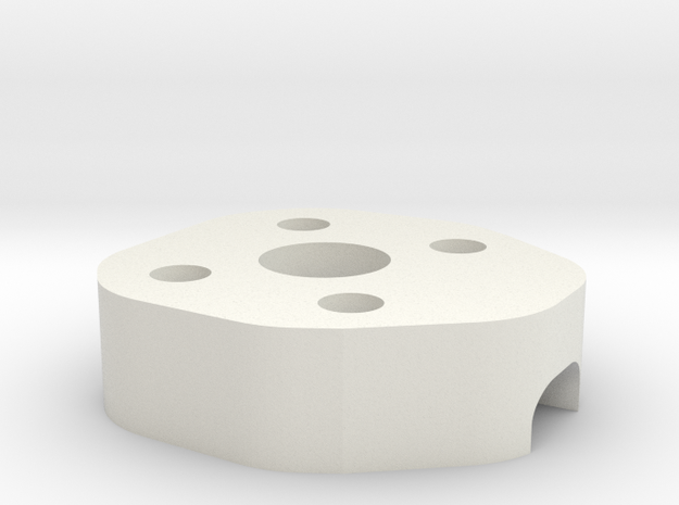 Lowerframe Spacer ZMR in White Strong & Flexible
