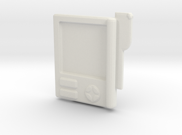 Control Tablet  in White Natural Versatile Plastic