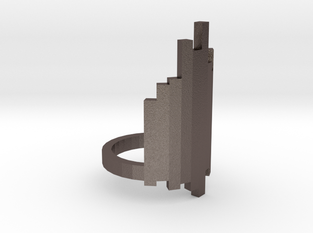 Ring Tower (size 9) in Stainless Steel