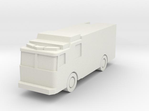 Ferrara FDNY Hazmat Second Piece 1:285 scale in White Natural Versatile Plastic
