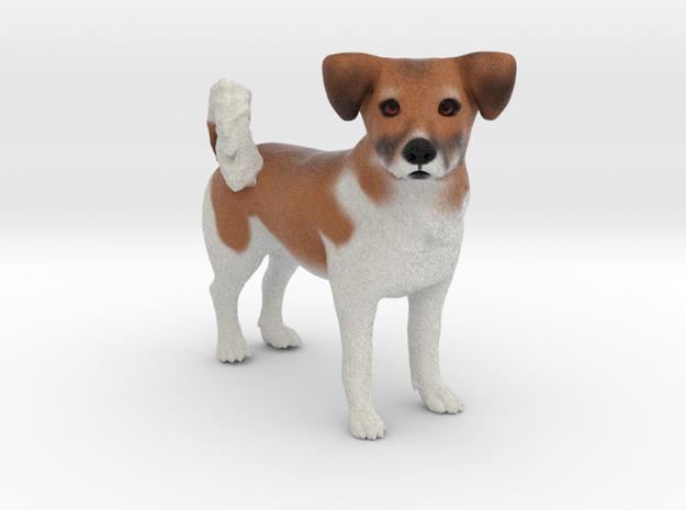 Custom Dog Figurine - Rocky in Full Color Sandstone